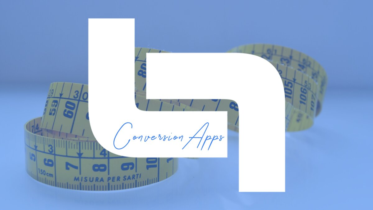 Conversion apps