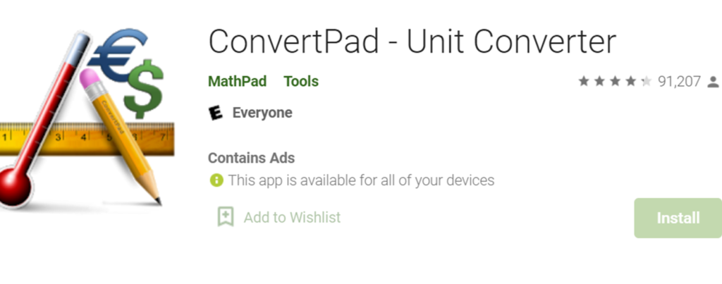 ConvertPad image and icon
