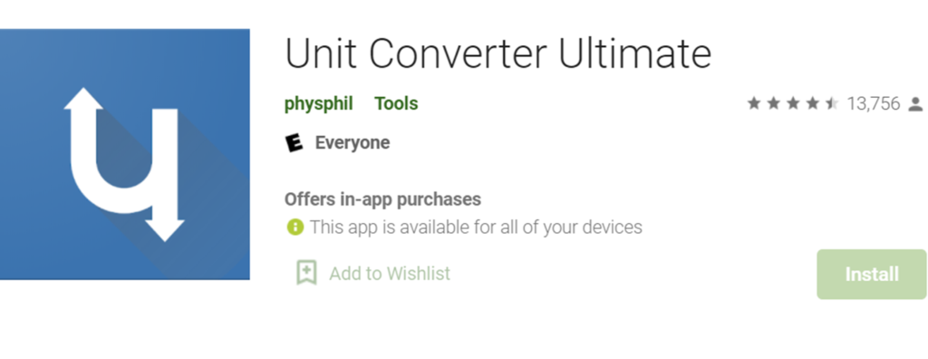 Unit Converter Ultimate icon and title