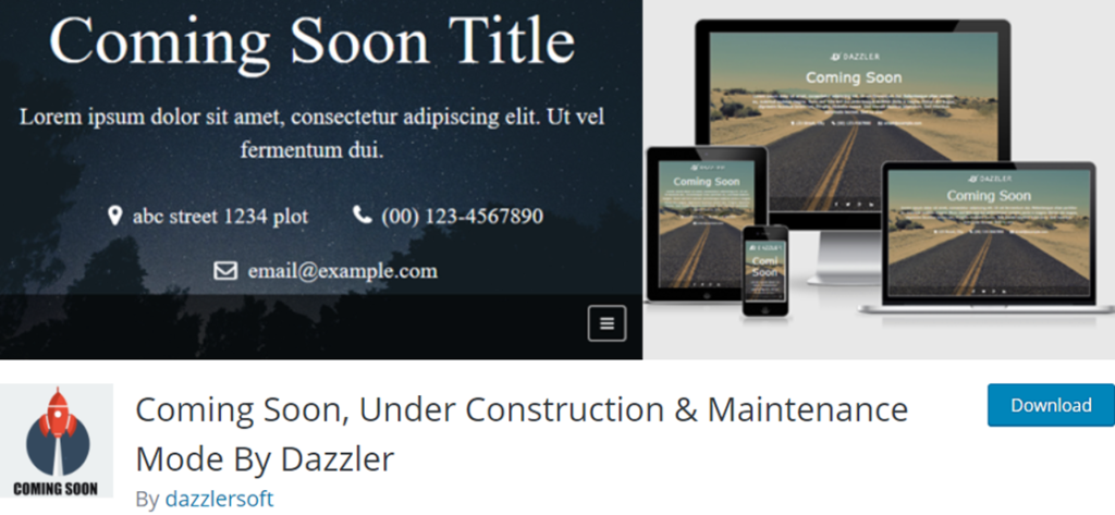 Coming Soon by Dazzler banner