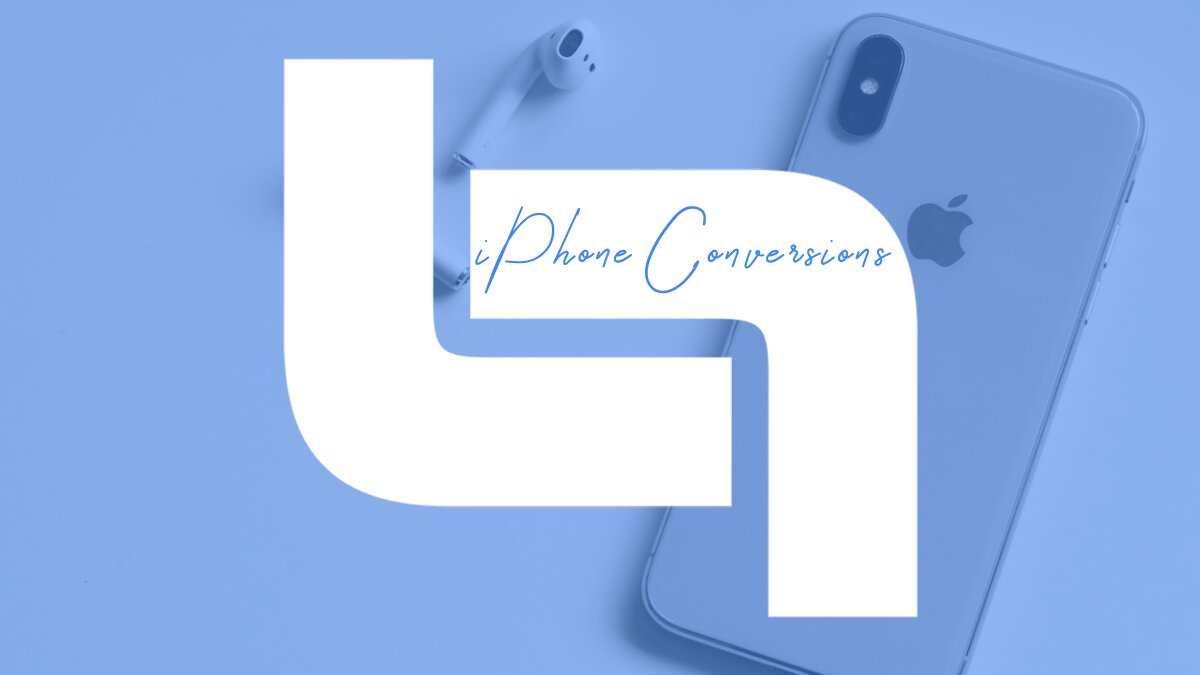iPhone conversions