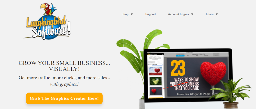 Laughinbird homepage