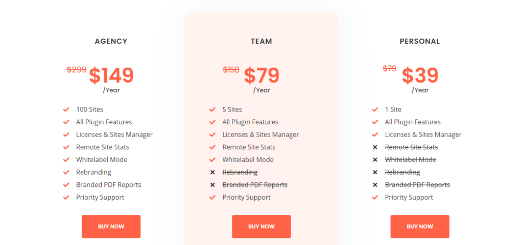 WP Redirects pricing plans